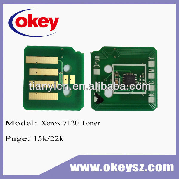 for Xerox workCentre 7120 toner chip Wholesale
