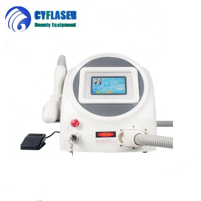 Rapid removal of pigmentation nd yag laser tattoo removal machine/q switched nd yag laser tattoo removal machine