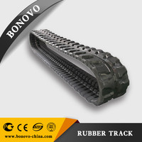 IHI IS 55UJ Excavator/Loader Rubber Track 400*72.5*74W made of Natural Rubber for Construction/Agriculture