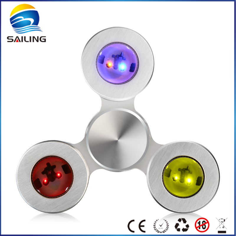 2017 Newest light spinner toy most popular LED hand spinner