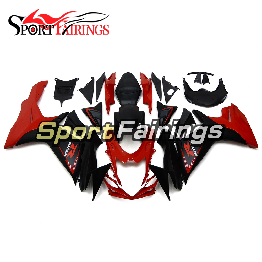 Motorcycle Full Fairing For Suzuki GSXR600-750 K11 Year 11-16 Red Black Cowling Kits Year 2011 2012 2013 2014 2015 2016 ABS