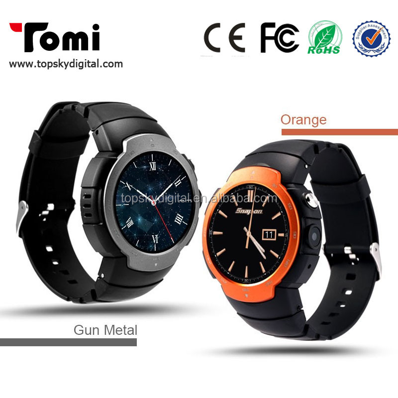 Heart Rate Pulse Monitor Z9 Smart Watch Android 5.1 OS MTK6580 Quad Core smartwatch Phone Support Google Map 3G WiFi Connect