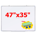"47""x35"" Magnetic Dry Erase Board Magnetic Whiteboard"