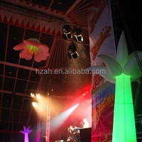 Ceiling inflatable Flower/inflatable Pillar for wedding decoration