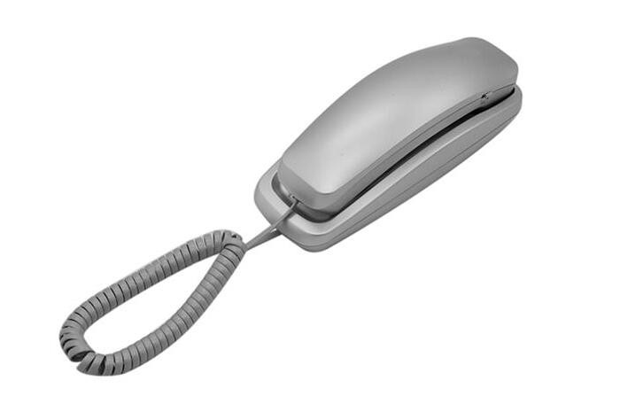 Slim and smooth design trimline wall phone for home or office use (TM-PA022)