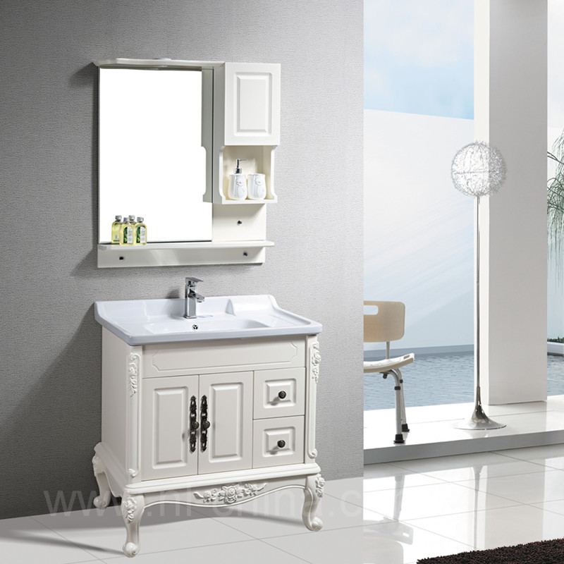 Super September Free Sample Bathroom Vanity Cabinet/wood/pvc Bath Vanity  B-8210 For Lowes Bathroom Vanity Cabinets Made In China - Buy Lowes  Bathroom ...