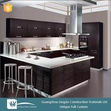 2015 luxury antique solid wood kitchen cabinet furniture made in guangzhou with high quality for top sale