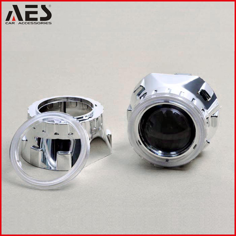 AES Best Quality Auto HID Bi-xenon Projector Lens Headlight Decorative Mask, HID Xenon Projector Lens cover