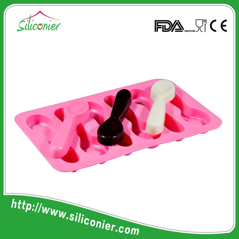 Christmas funny silicone chocolate mould mold