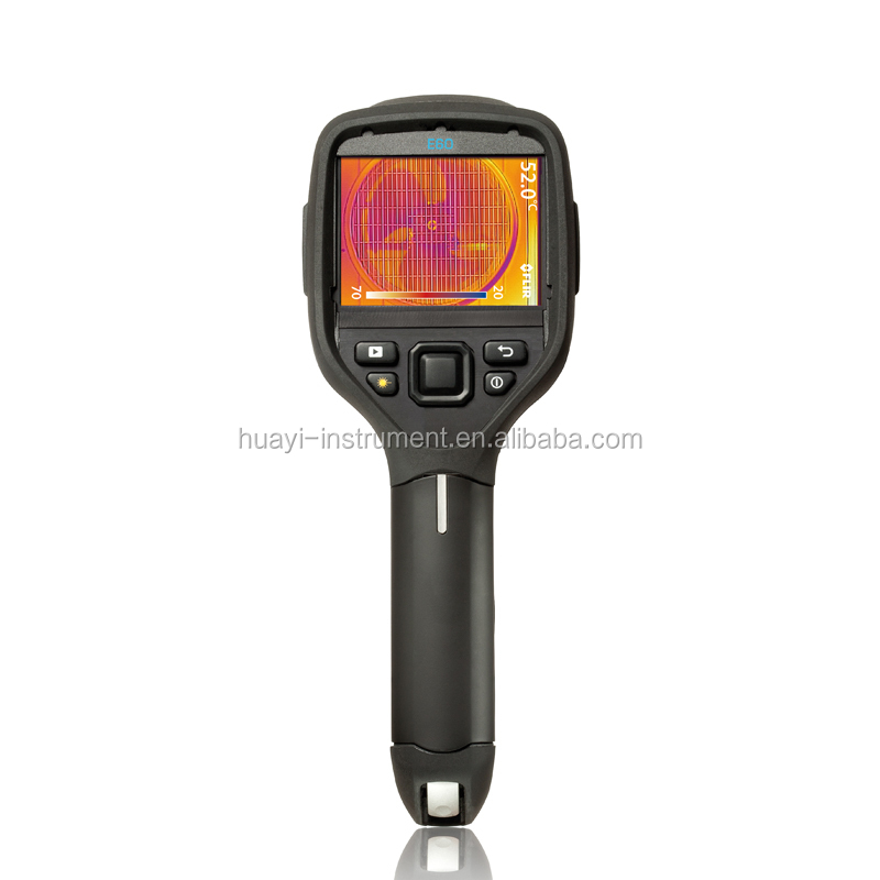 FLIndutrial E60 Thermography Taking Thermal Pictures Test Plumbing and Heating Pipes