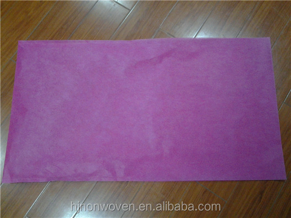 20''*38'' Fuchsia Non-woven Chair Cover for banquet decoration