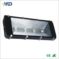 COB 400w led tunnel flood light 90-260V Bridgelux Meanwell Driver Anti-dazzling IP65 tunnel car washing systems led wallpack