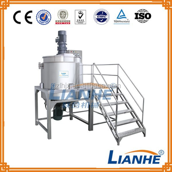 New product 2015 laundry soap making machine/ shampoo mixing machine price