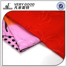 Best selling embroidery plain woven rayon fabric