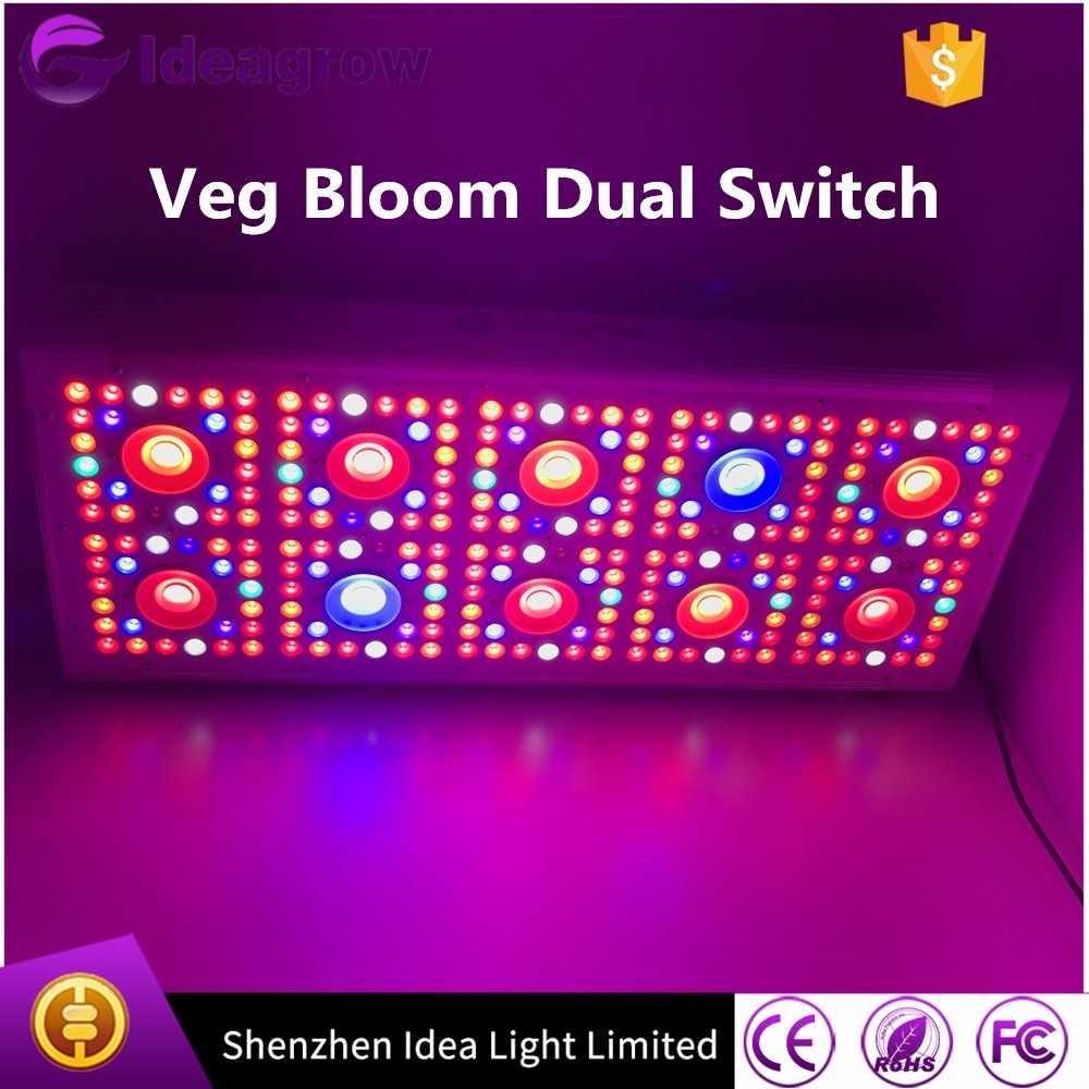 Idea Grow 1000w full spectrum COB led grow lights for greenhouse, hydroponic led grow light