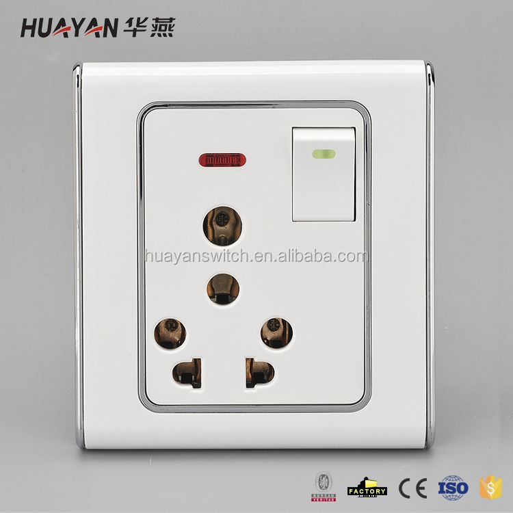 Hot Selling trendy style pvc wall switch from China
