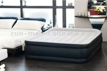 2014 new design inflatable air bed with built-in pump; inflatable air mattress for double