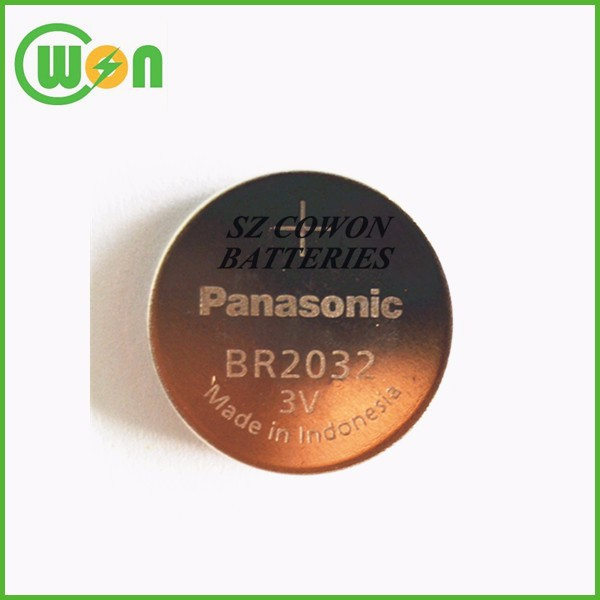 3V lithium BR2032 battery coin battery wide temperature BR 2032