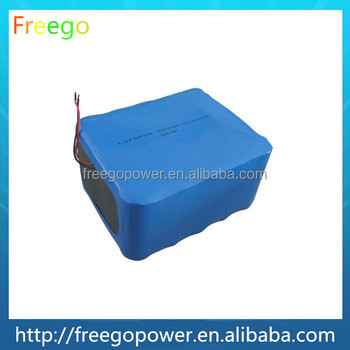 36V 18650 rechargeable deep cycle battery pack for e bike