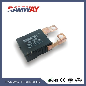 DS902F 80A relay12v ,220vac relay, relay 24v 80a