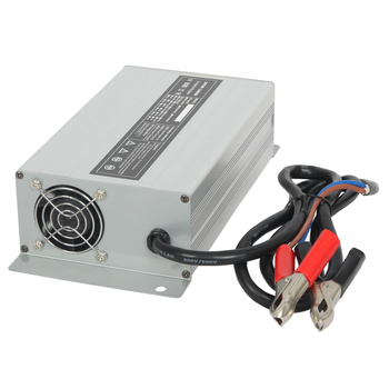 60V 12A lithium battery charger for li-ion battery pack with aluminum case