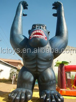 best seller giant inflatable animal life size lovely inflatable monkey for promotion