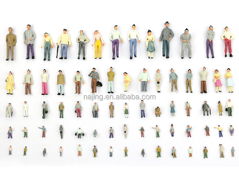 HO OO TT N Z Gauge Plastic Mini Scale <strong>Model</strong> Human Figures for Architectural <strong>Model</strong> or Train <strong>Model</strong>