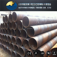 Contruction Materials/ DIN EN API 5L SSAW High Strength Spiral Welded Steel Pipe/Tube for Oil and Gas