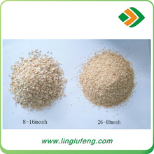 Dehydrated white garlic minced with best price