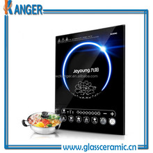 high quality heat resistant any size customized induction cooktop panels