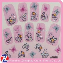 Fashion 3D decorative nail strip