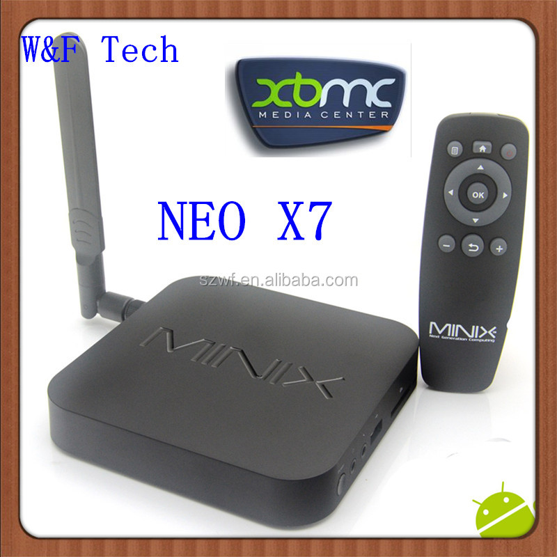 minix neo x7 16gb Rk3188 Quad Core tv box preinstall XBMC android 4.2 MINIX X7