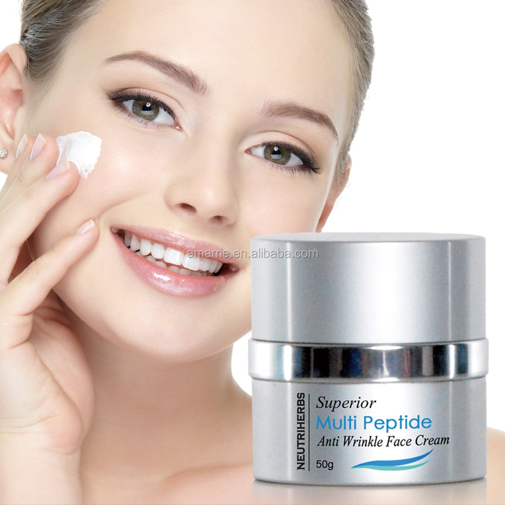 Private Label Skin Care Beauty Products Superior wrinkle Instantly Anti Wrinkle Argan Anti-age Face Cream