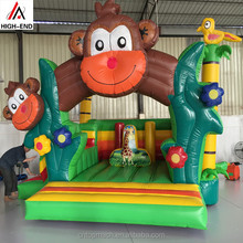 Indoor/outdoor playground equipment china factory supply inflatable castle/christmas inflatable bouncer