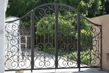 Various types of metal fence and Fencing Design and garden gate