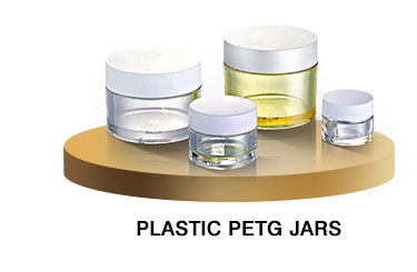 White Clear fancy durable cosmetic glass bottle and jar sets