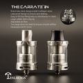 Best sub ohm RTA 24*31.5mm atomizer sub tank dual coil base atomizer Dark The Carrate 24 RTA