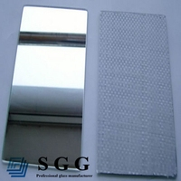 Excellent quality 4mm safety backed mirror(CAT I, CAT II)