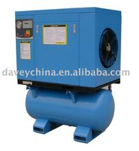20hp, 3 phase, rotary screw compressor with 270L tank