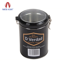 Nice-can Hot Selling High Quality Food Grade Empty Coffee Tin Can Wholesale Custom Metal Round Tea Tin Containers