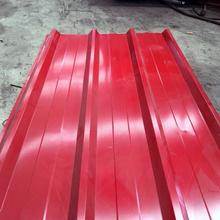 shandong steel company colored tin roof sheets price per sheet