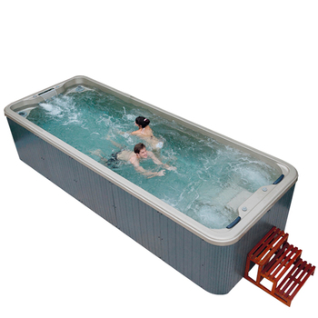 HS-S06B endless pool/ swim spa/ above ground swimming pool