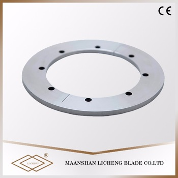 Precision Polished 28Mm Diameter V Cut Circular Pcb Carbide Slitter Blade