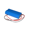 7.4V cylindrical 18650 2600mAh li-ion battery pack for industrial products