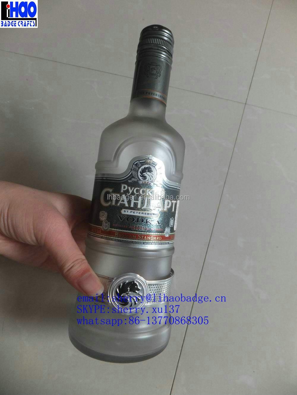 Glass Bottle Plastic Cap Wholesale Vodka Bottle Cap Wine