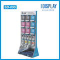 Customized pop recycled material cardboard display stand for retailing