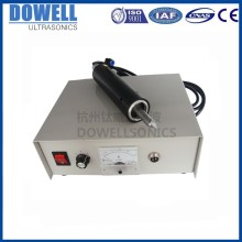 35KHz ultrasound pvc sheet fusing machine cutter blade knife