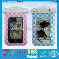 swimming waterproof case for iphone 4/4s with IPX8 certificate
