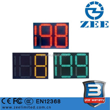 3 Year Warranty LED Traffic Light Countdown Timer, Two and half Digits Tri-Colors Traffic Light Timing