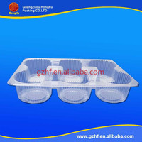 China manufacturer clear acetate plastic blister tray